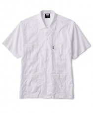 GUAYABERA SHIRT - WHITE
