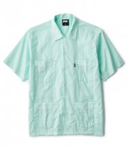 <img class='new_mark_img1' src='//img.shop-pro.jp/img/new/icons5.gif' style='border:none;display:inline;margin:0px;padding:0px;width:auto;' />GUAYABERA SHIRT - AQUA