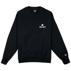 <img class='new_mark_img1' src='//img.shop-pro.jp/img/new/icons5.gif' style='border:none;display:inline;margin:0px;padding:0px;width:auto;' />CLCLASSIC CHAMPION CREWNECK - BLACK