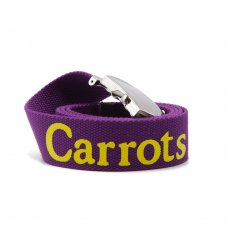 <img class='new_mark_img1' src='//img.shop-pro.jp/img/new/icons5.gif' style='border:none;display:inline;margin:0px;padding:0px;width:auto;' />CARROTS WORDMARK WEB BELT - PURPLE CARROT