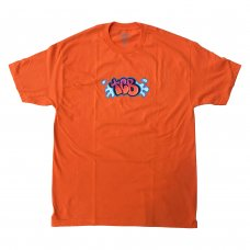BUBBLE LETTER TEE - ORANGE