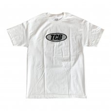 <img class='new_mark_img1' src='//img.shop-pro.jp/img/new/icons5.gif' style='border:none;display:inline;margin:0px;padding:0px;width:auto;' />METALLIC OVAL LOGO TEE - WHITE