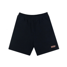 BOX LOGO SWEAT SHORTS - BLACK