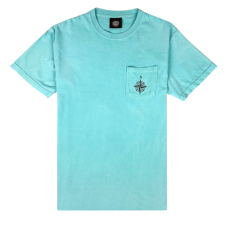 COMPASS POCKET TEE - CHALKY MINT