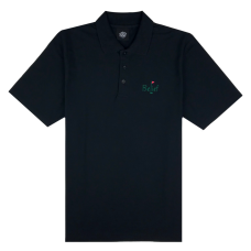 FAIRWAY POLO SHIRT - BLACK