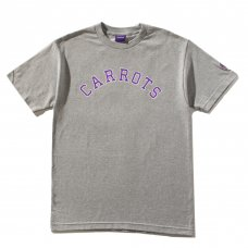 COLLEGIATE CARROTS WORDMARK TEE - HEATHER GREY