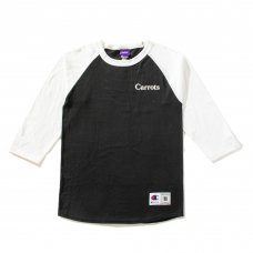 CARROTS WORDMARK CHAMPION RAGLAN - BLACK