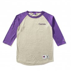 CARROTS WORDMARK CHAMPION RAGLAN - HEATHER GREY