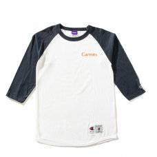 CARROTS WORDMARK CHAMPION RAGLAN - WHITE