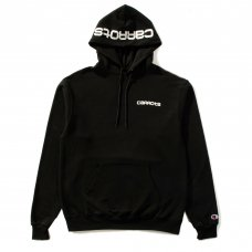 CARROTS CONJOINED CHAMPION ECO HOODIE - BLACK