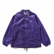 SIGNATURE CARROT COACHES JACKET - PURPLE