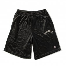 <img class='new_mark_img1' src='//img.shop-pro.jp/img/new/icons5.gif' style='border:none;display:inline;margin:0px;padding:0px;width:auto;' />COLLEGIATE CARROTS CHAMPION MESH SHORTS - BLACK