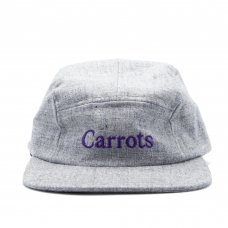 <img class='new_mark_img1' src='https://img.shop-pro.jp/img/new/icons47.gif' style='border:none;display:inline;margin:0px;padding:0px;width:auto;' />CARROTS WORDMARK EBBETS FIELD FLANNEL 5-PANEL - GREY