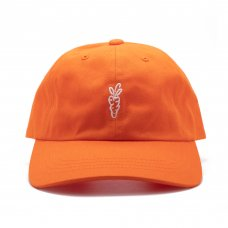 SIGNATURE CARROT BALL CAP - ORANGE
