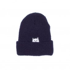 <img class='new_mark_img1' src='//img.shop-pro.jp/img/new/icons5.gif' style='border:none;display:inline;margin:0px;padding:0px;width:auto;' />LORD NERMAL RIBBED BEANIE(NAVY)