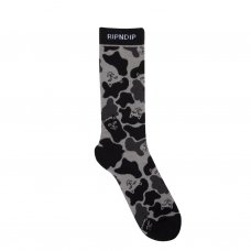 <img class='new_mark_img1' src='//img.shop-pro.jp/img/new/icons5.gif' style='border:none;display:inline;margin:0px;padding:0px;width:auto;' />NERM CAMO SOCKS (BLACK OUT CAMO)