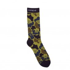 <img class='new_mark_img1' src='//img.shop-pro.jp/img/new/icons5.gif' style='border:none;display:inline;margin:0px;padding:0px;width:auto;' />NERM CAMO SOCKS (TROPIC CAMO)