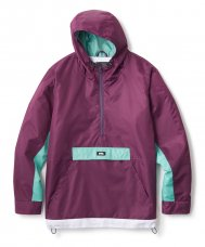 <img class='new_mark_img1' src='//img.shop-pro.jp/img/new/icons47.gif' style='border:none;display:inline;margin:0px;padding:0px;width:auto;' />COLOR BLOCKED ANORAK JACKET - PURPLE
