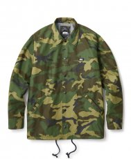 <img class='new_mark_img1' src='//img.shop-pro.jp/img/new/icons5.gif' style='border:none;display:inline;margin:0px;padding:0px;width:auto;' />TEAM COACH JACKET - CAMO