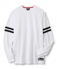 DOLMAN FOOTBALL TOP - WHITE