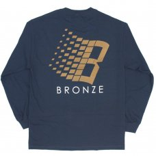 <img class='new_mark_img1' src='//img.shop-pro.jp/img/new/icons47.gif' style='border:none;display:inline;margin:0px;padding:0px;width:auto;' />B LOGO LONG SLEEVE - NAVY/BRONZE/ORANGE