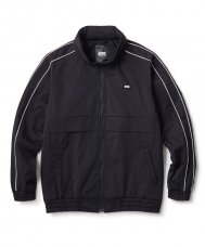 PIPING TRACK JACKET - BLACK