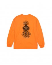 FLYER SNACKMAN L/S TEE - ORANGE