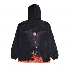 <img class='new_mark_img1' src='//img.shop-pro.jp/img/new/icons5.gif' style='border:none;display:inline;margin:0px;padding:0px;width:auto;' />HELL PIT HOODED COACH JACKET(BLACK)