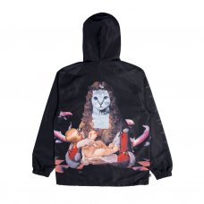 <img class='new_mark_img1' src='//img.shop-pro.jp/img/new/icons5.gif' style='border:none;display:inline;margin:0px;padding:0px;width:auto;' />MOTHER FISH BABY HOODED COACH JACKET(BLACK)