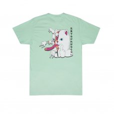 ZIPPERFACE TEE(MINT)