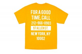 GOOD TIME TEE - GOLD