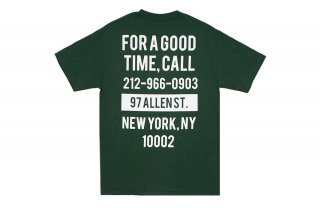 GOOD TIME TEE - FOREST