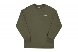 CHILL WAVE LONG SLEEVE - MILITARY