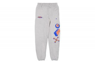 REVERSE WEAVE GAME SWEATPANTS - GRAY