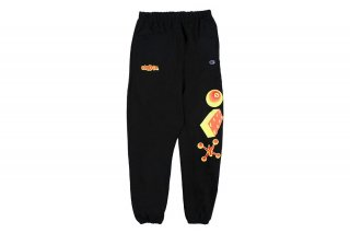 REVERSE WEAVE GAME SWEATPANTS - BLACK