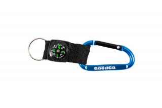 THIN LINE NAVAGATING CARABINER - BLUE