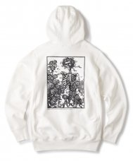 FTC × GRATEFUL DEAD PULLOVER HOODY - WHITE