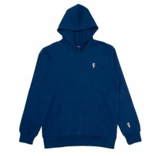 ONE HIT PATCH HOODIE - BLUE