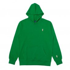 ONE HIT PATCH HOODIE - GREEN