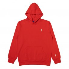 ONE HIT PATCH HOODIE - RED