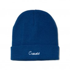 <img class='new_mark_img1' src='//img.shop-pro.jp/img/new/icons5.gif' style='border:none;display:inline;margin:0px;padding:0px;width:auto;' />CURSIVE BEANIE - BLUE