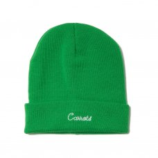 <img class='new_mark_img1' src='//img.shop-pro.jp/img/new/icons5.gif' style='border:none;display:inline;margin:0px;padding:0px;width:auto;' />CURSIVE BEANIE - GREEN