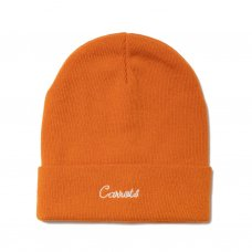 <img class='new_mark_img1' src='//img.shop-pro.jp/img/new/icons5.gif' style='border:none;display:inline;margin:0px;padding:0px;width:auto;' />CURSIVE BEANIE - ORANGE