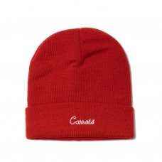<img class='new_mark_img1' src='//img.shop-pro.jp/img/new/icons47.gif' style='border:none;display:inline;margin:0px;padding:0px;width:auto;' />CURSIVE BEANIE - RED