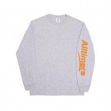 ESTATE PUFFY L/S TEE - HEATHER GREY
