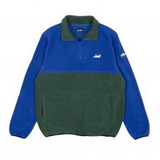 <img class='new_mark_img1' src='//img.shop-pro.jp/img/new/icons5.gif' style='border:none;display:inline;margin:0px;padding:0px;width:auto;' />CASTANZA FLEECE HALF ZIP JACKET (NAVY / HUNTER GREEN)
