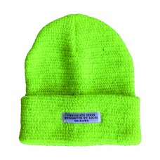 REFLECTIVE BEANIE - NEON YELLOW