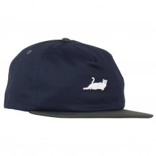 <img class='new_mark_img1' src='//img.shop-pro.jp/img/new/icons5.gif' style='border:none;display:inline;margin:0px;padding:0px;width:auto;' />CASTANZA 5 PANEL SNAPBACK (NAVY/HUNTER GREEN)