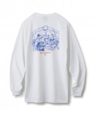 PIANO CHOIR L/S TEE - WHITE