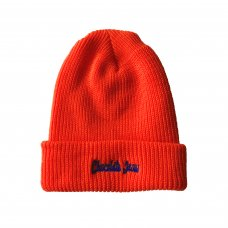 <img class='new_mark_img1' src='//img.shop-pro.jp/img/new/icons5.gif' style='border:none;display:inline;margin:0px;padding:0px;width:auto;' />CJ LOGO BEANIE - ORANGE